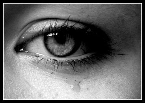 sad tears