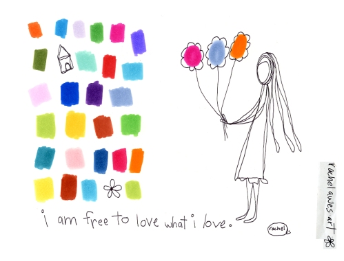 120011 i am free to love what i love