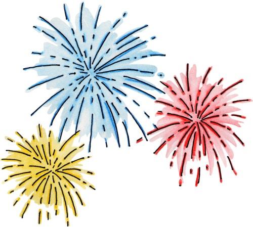 FreeClipart_Fireworks_01