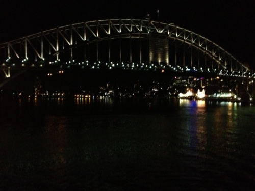 Sydney Bridge at NIght