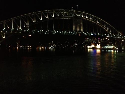 Sydney Bridge at NIght