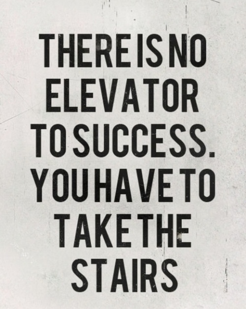 no-elevator-to-success